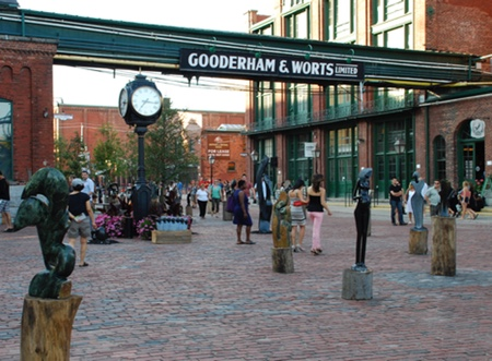 Attractions: Distillery District